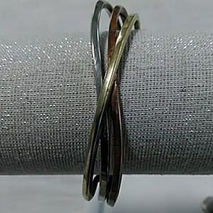 Jewelry - Copper, Brass, and Steel Twisted Bracelet